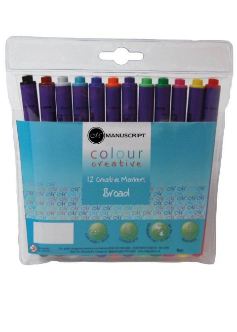 Children's Felt Marker Pack Broad Tip